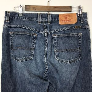 Vintage Lucky Brand Button Fly Easy Rider Jeans